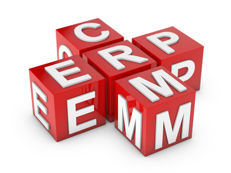 ERP and CRM Enterprice Resource Planning and Customer Relationship Management photo