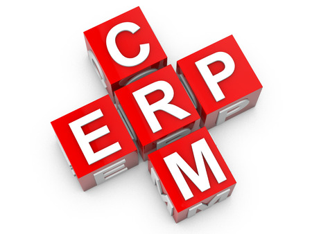 ERP y Enterprice Resource Planning CRM y Customer Relationship Management photo