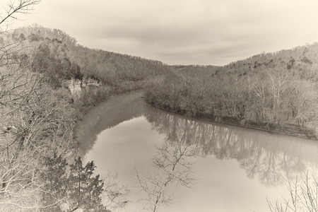 Kentucky river at Raven Run Park.