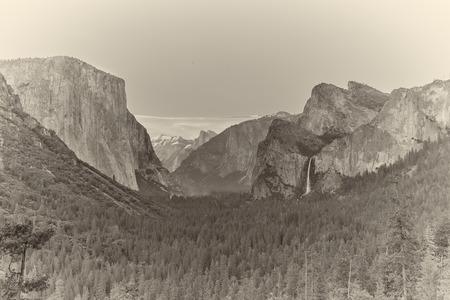 Yosemite vally. Stock fotó