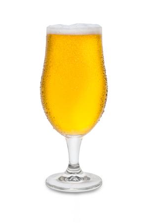 Full Belgium Ale with Condensation. Banco de Imagens