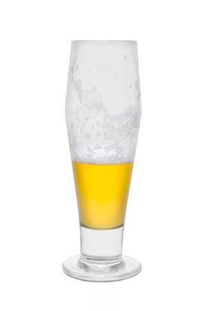 Classic Beer, Quarter Full.