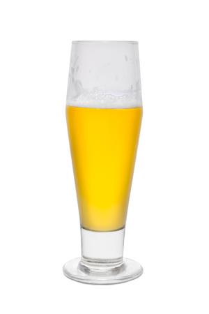 Classic Beer, Three Quarter Full.