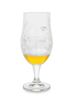 Quarter Full Belgium Ale .