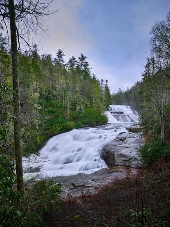 Triple Falls in the Dupont State Forest in North Carolina.