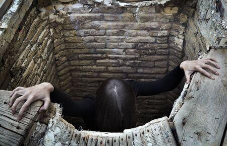 Schreckliche Frau, die sich gut Standard-Bild - 5257233