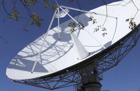 comunication: very big satellite tv