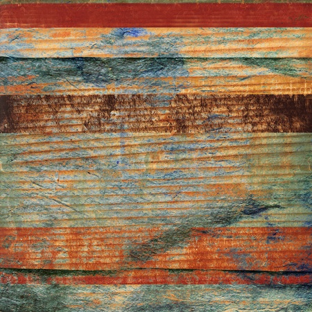 lumber room: colored old wood blending with old texture paper