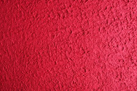 horozontal: Crushed red paper texture in horozontal format Stock Photo