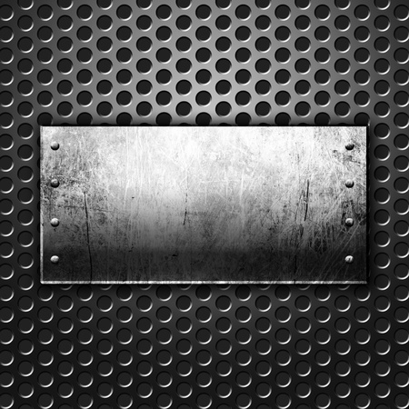 Dark metal texture with copy space Stock Photo - 13269185