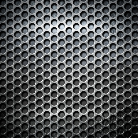 diamond shaped: Metal texture background with copy space