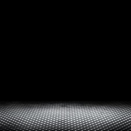 metalic: Leerer Raum mit dunklem Hintergrund