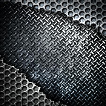 floor machine: de metal de fondo
