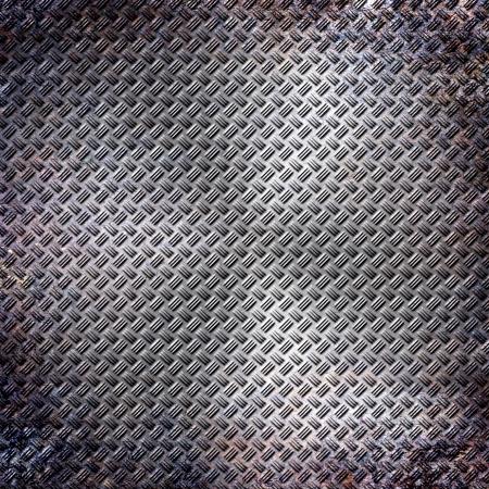 treadplate: old metal background