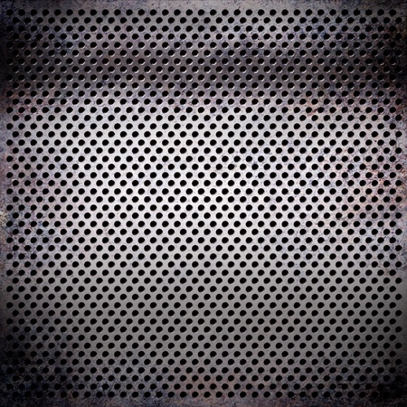 treadplate: rusty metal pattern