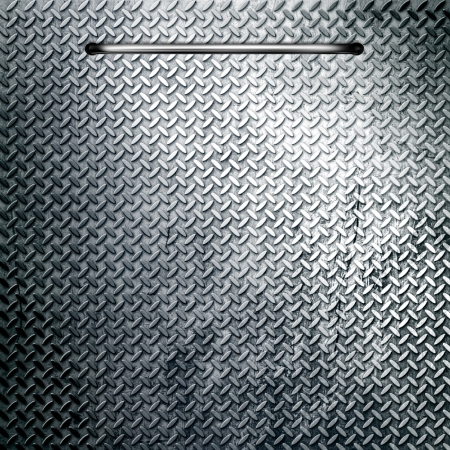 treadplate: metal background
