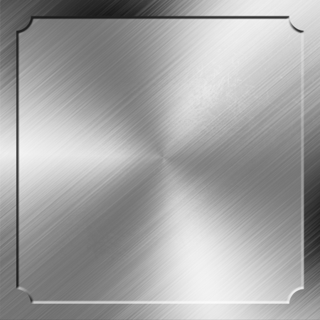 metal pettern: metal background with border