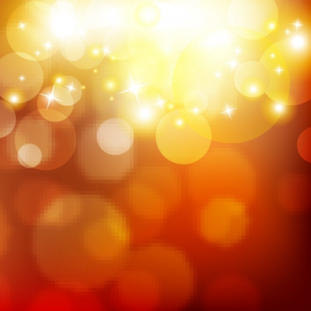 Light of bokeh Vector