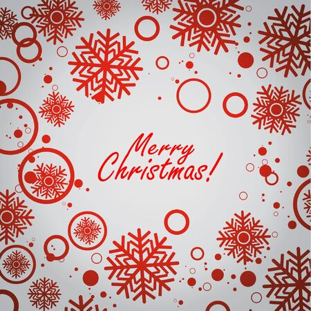 Christmas background  with grey background Stock Vector - 16827523