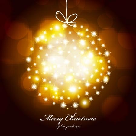 Light of christmas ball