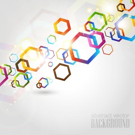 Аннотация геометрические Иллюстрация