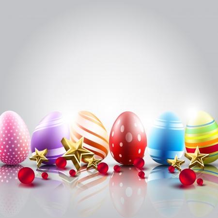 пасхальные яйца фоне