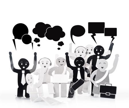 Улыбка для человека символом социальной сети