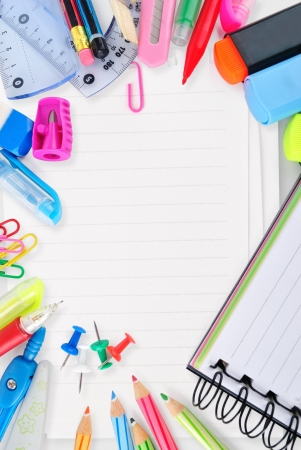 Stationary for school and office  Stock Photo - 19329382