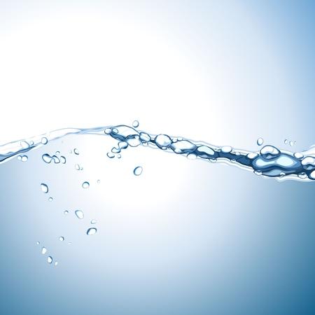 Fondo de la onda de agua Foto de archivo - 19488264