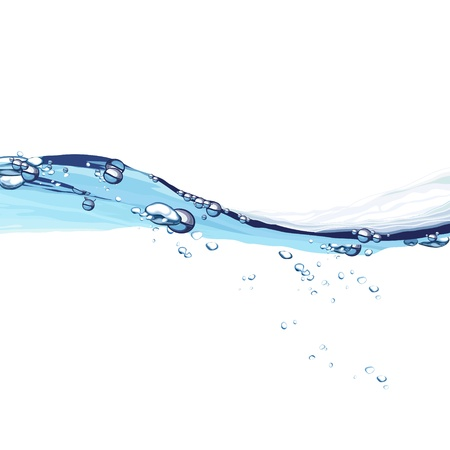 fresh water splash: Water wave background