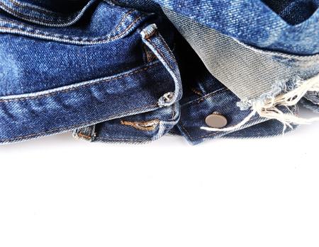 jeans texture: Textura azul pantalones vaqueros del dril de algod?