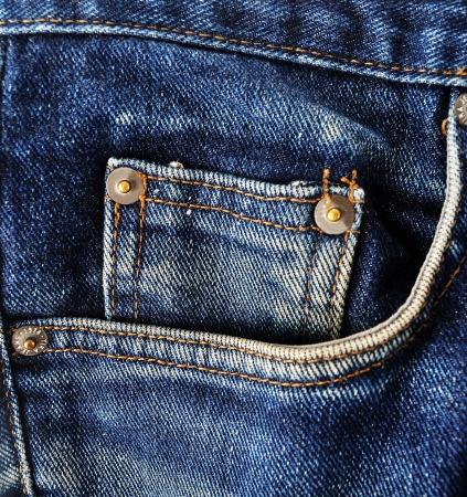 jeans texture: Textura azul pantalones vaqueros del dril de algod?n