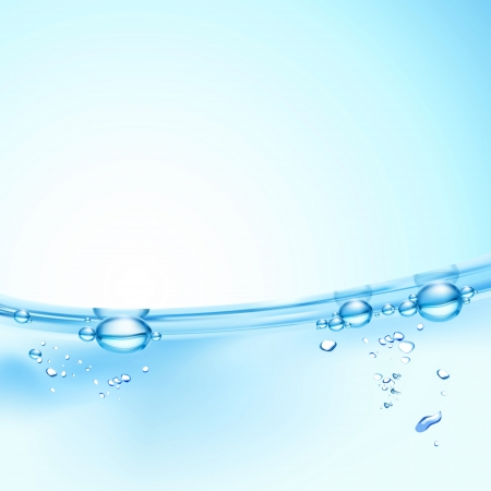 Fondo de agua resumen Foto de archivo - 19760501