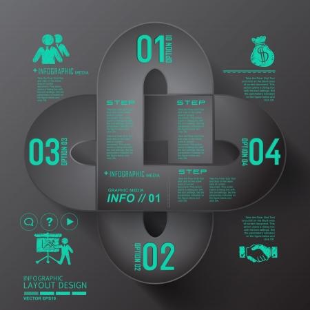 Modern business design for template, infographic, website, symbol Stock Vector - 20303701