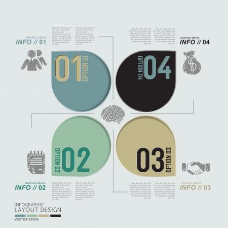 Modern business design for template, infographic, website, symbol Stock Vector - 20295033