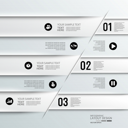 option key: Modern business design template  Can be used for vector eps10 design, work flow layout, diagram, number options, step up options, web design, banner template, info graphic