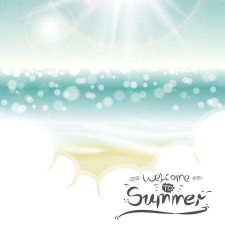 여름 배경