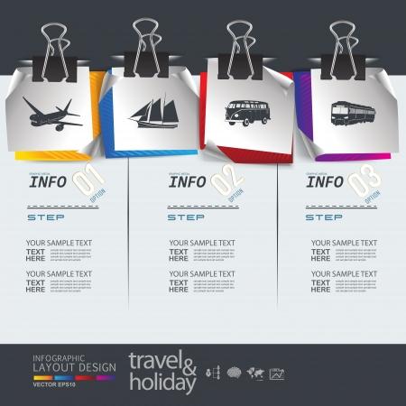 Абстрактные праздник путешествия транспорта элемент шаблона Иллюстрация