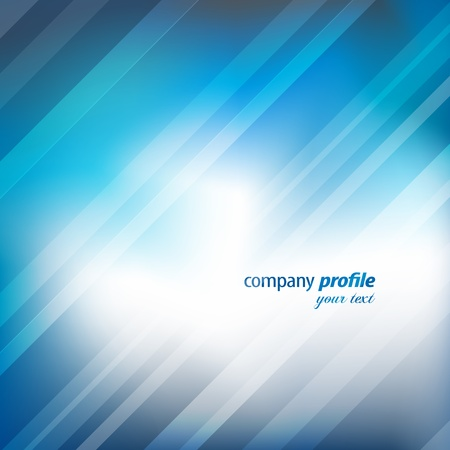 company profile: Abstract background Illustration