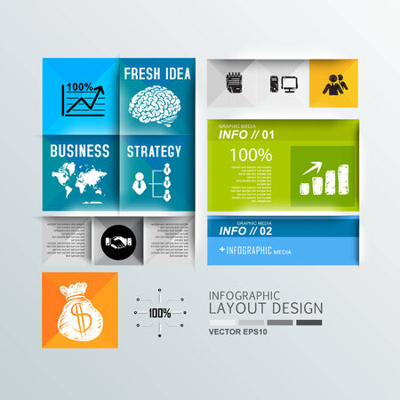 Modern design for infographic, template, design