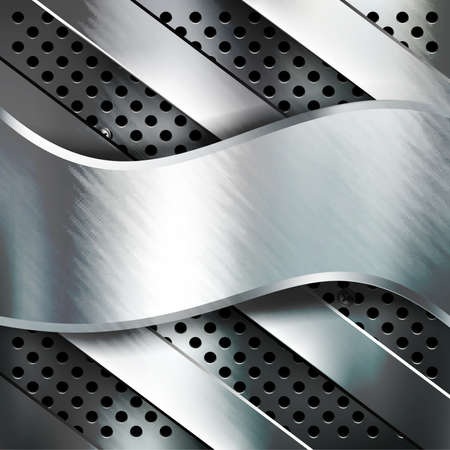 Metal background Stock Photo - 23868516