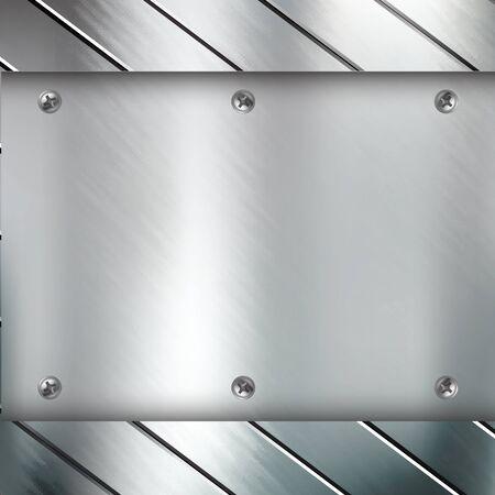 Metal background Stock Vector - 23868554