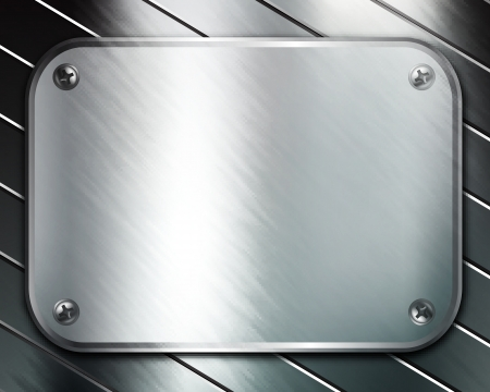 Metal background Stock Vector - 23868557