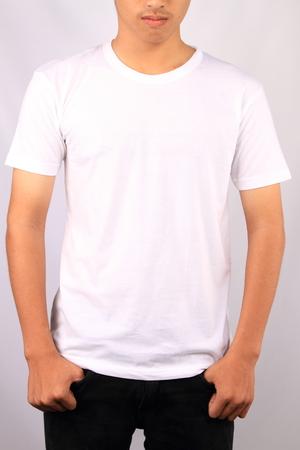 T-shirt plantilla Foto de archivo - 25362017