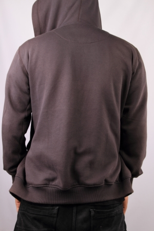 casual hooded top: plantilla de la camiseta