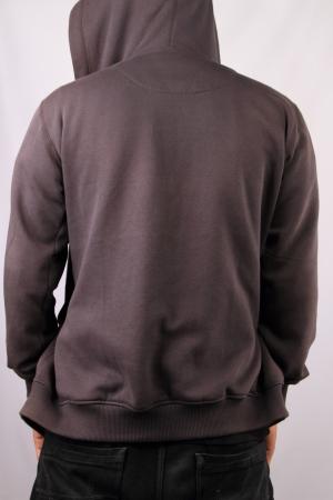 casual hooded top:  sweatshirt template