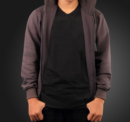 Sweatshirt template   photo