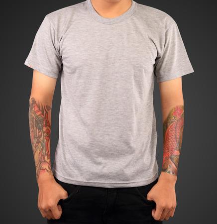 티셔츠 템플릿 스톡 콘텐츠