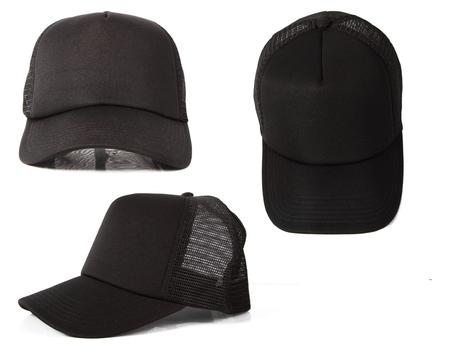 black hat template photo