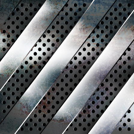 treadplate: Metal texture background with copy space